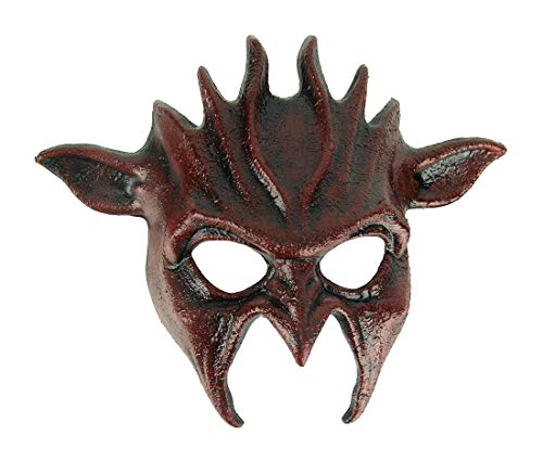 - Blood Red Adult Wicked Goblin Halloween Mask