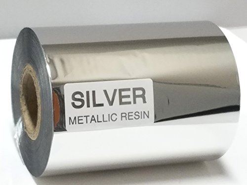 Tamperco Resin Silver Chromed Thermal Transfer Printing Ribbon 3.27