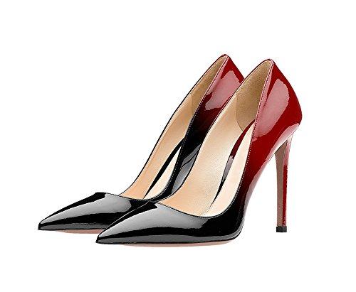 Guoar - Cerrado Mujer negro y rojo