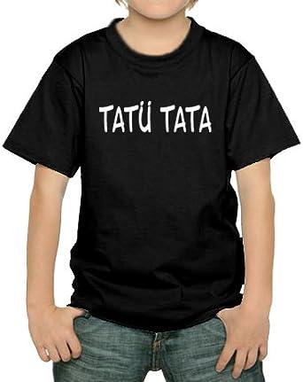 Touchlines T-Shirt Tatü Tata - Camisa de Bolos, Color Negro, Talla DE: 134/146: Amazon.es: Ropa y accesorios