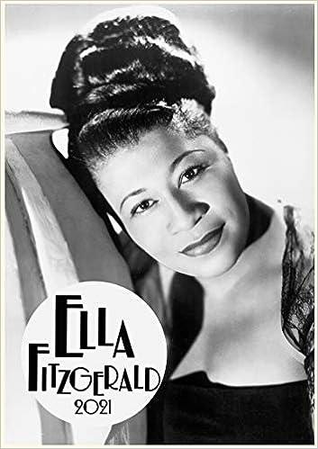 Ella Fitzerald Jazz Blues Soul Music Vintage Photo Affiche Magazine Cover Calendrier mural 2020 12 Pages 20x30cm