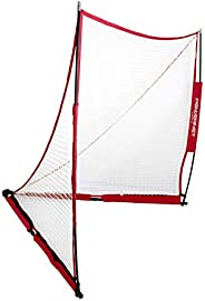 PowerNet Portable Lacrosse Goal   Choose from Two Sizes 6x6 or 4x4   Quick and Easy 2 Minute Setup No Tools Re
