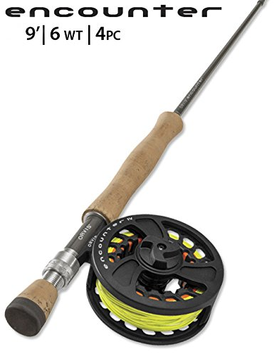 Orvis Encounter 6-weight 9' Fly Rod Outfit by Orvis