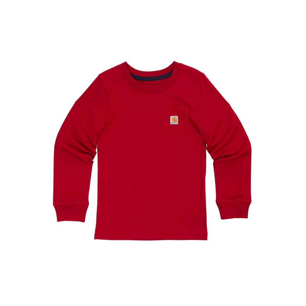 Lolly TOGS RED LS Pocket Logo T W SLV HIT RHBRB Boys L
