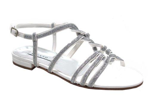Albano 4314 Kvinna Platt Dressy Strappy Glittered Sandal