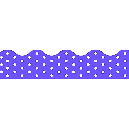 TREND enterprises, Inc. Polka Dots Purple Terrific Trimmers, 39 -