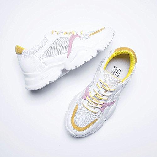 Q14 WSXY Ventilación Deportivas Senderismo Para Running Pink Aire Malla Zapatos Y Plataforma KJJDE Zapatos Con De Libre Mujeres xawYXnIq