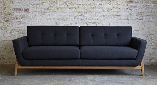 Awe Inspiring Sofas Stuff Bermondsey Knebworth Anthracite Large Sofa Ibusinesslaw Wood Chair Design Ideas Ibusinesslaworg