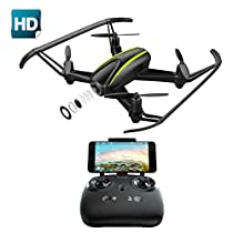 Drone with HD Camera, Potensic U36 RC Quadcopter Drone RTF 4 Channel 2.4GHz 6-Gyro Headless System Altitude HoldFunction(Black)