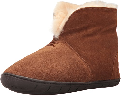 Cotton Shearling Blanket - Staheekum Men's Plush Shearling Lined Slipper, Tundra Wheat, 8 M US