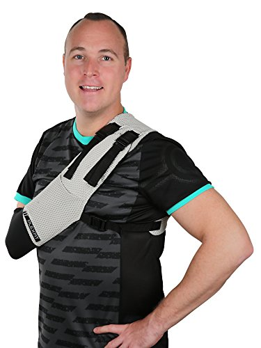 PLEXFIT Athletic Arm Sling Right Arm Small & Medium by PLEXFIT