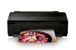 Epson Stylus Photo 1500W - Impresora fotográfica (WiFi, resolución de hasta 5760 x 1440 ppp), color negro
