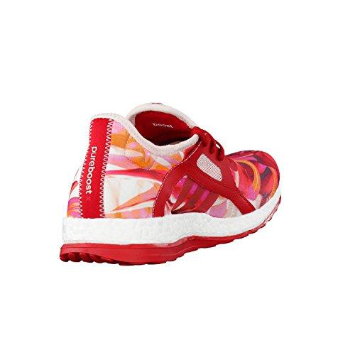 adidas PureB Oost X zapatos de correr para mujeres Rojo