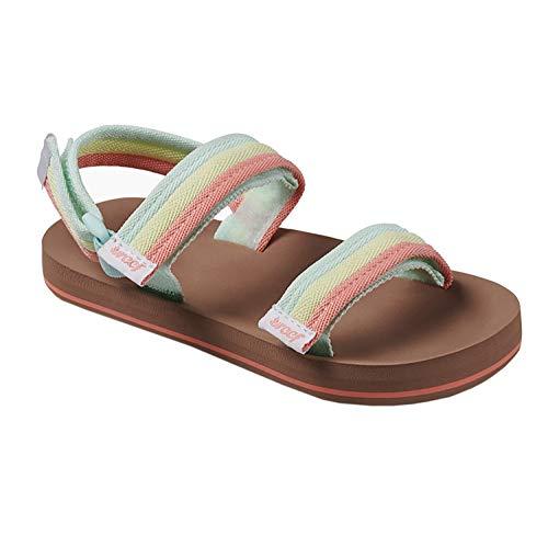 (Reef Little Ahi Convertible Kids Sandals 7-8 M US Toddler Rainbow)