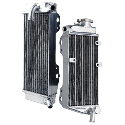 Tusk Aluminum Radiator Set - Fits: Honda CRF450X 2012 by Tusk