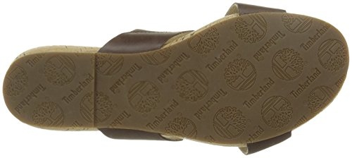 Timberland Damen Spaulding Slide Sandale, Braun, 37.5 EU