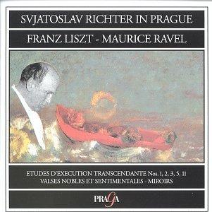 Sviatoslav Richter in Prague ~ Liszt: Etudes D'Execution Transcendante Nos. 1, 2, 3, 5, 11 / Ravel: Valses Nobles et Sentimentales - Miroirs
