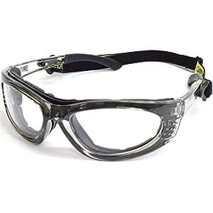 60eef0c5e964d Óculos de Segurança - Turbine com Lente Incolor-STEEL PRO-656358 ...