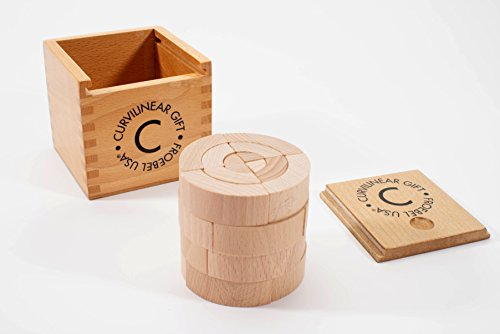 Froebel Gift - Froebel Curvilinear Gift Curved Wood Blocks