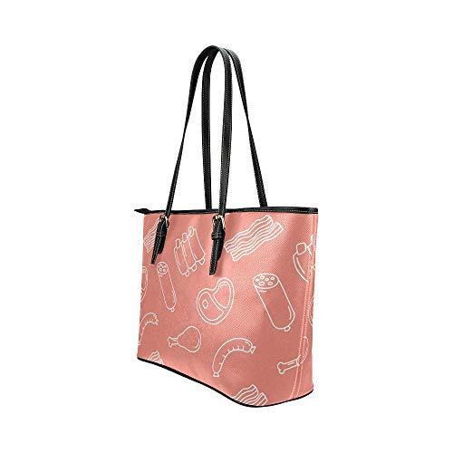 Väska axel kvinnor färgglad vacker konst solid målning läder handväskor väska orsaksala handväskor dragkedja axel organiserare för dam flickor kvinnor handväska fodral