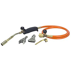 NEW Propane LP Gas 3 Burner Torch Kit for Melting Brazing Gold Silver Copper –W#436BRE T44/35PDS660792