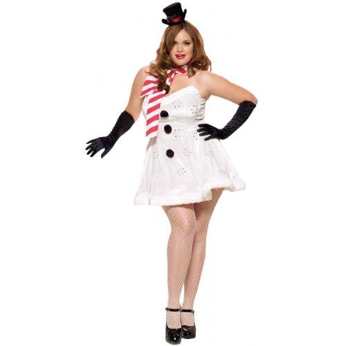 Miss Winter Wonderland Adult Costume - Plus Size -