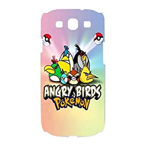 SamSung Galaxy S3 9300 phone cases White Angry Birds cell phone cases Beautiful gifts TRIJ2767966