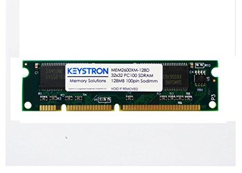 128MB Cisco 2600XM Series Routers Dram Memory (p/n MEM2600XM-128D, MEM2600XM-128U256D) 2611XM 2610XM,2620XM,2621XM, 2650XM, 2651XM