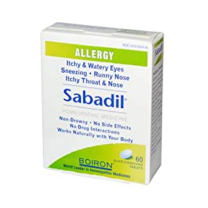 Boiron Sabadil and 45 60 Tablets ( Multi-Pack)