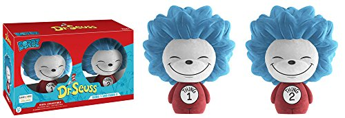 Dorbz Dr. Seuss Flocked Thing 1 & Thing