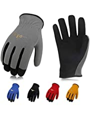 Vgo. AL-8736 Multi-Functional Gardening Training Crafting Work Gloves Value Pack(5-Pairs, 5 Color, Size S/M/L/XL)