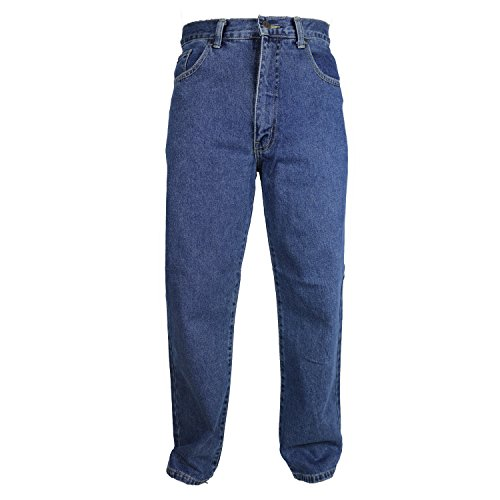 Carabou Extra Short Leg 27″ Mens Regular Fit Comfort Denim Jeans