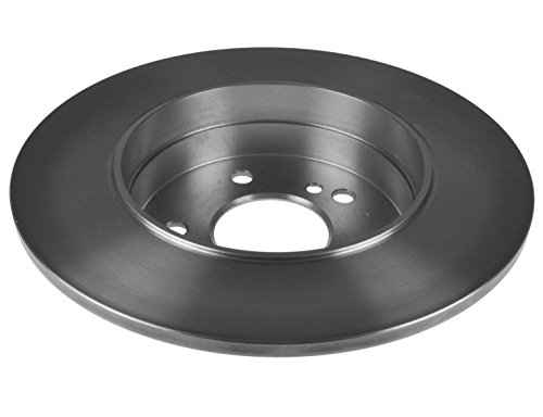 Drivemaster DMD152 Rear Brake Discs x2 262mm Diameter Solid 10mm Thickness