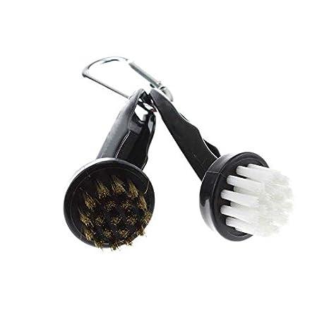 crestgolf circular cepillo de palos de golf con dos lados ...