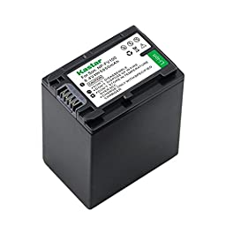 High Capacity SONY NP-FH100, NPFH100 InfoLithium H Equivalent Camcorder Battery for SONY