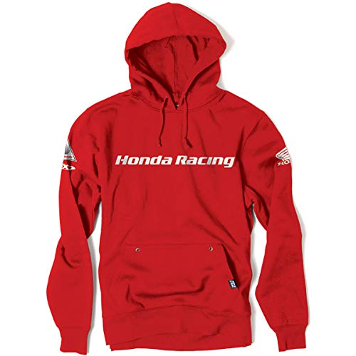 Sweatshirt Hoody Honda (Factory Effex Honda Racing Hoody (MEDIUM) (RED))