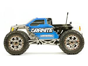 Granite RTR 1/10th Scale Mosnter Truck By Arrma R/c (Red Body)