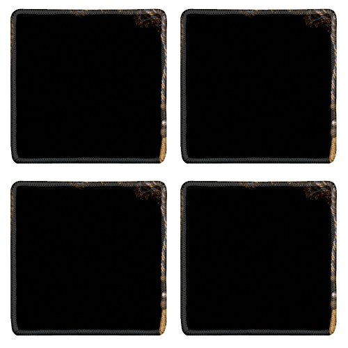 [MSD Square Coasters IMAGE 19315768 Carnival in Venice image with ample copyspace Isolated On black] (Venice Carnival Costumes Ideas)