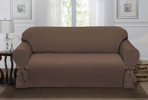 Chocolate Brown Lucerne Sofa Slipcover