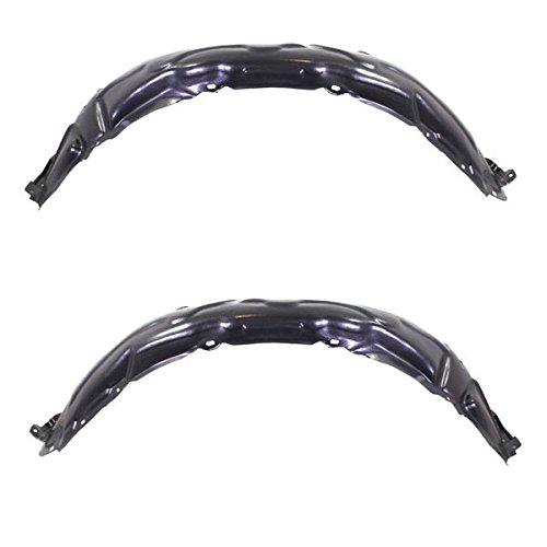 - Koolzap For 07-11 Camry Front Splash Shield Inner Fender Liner Panel Left Right SET PAIR