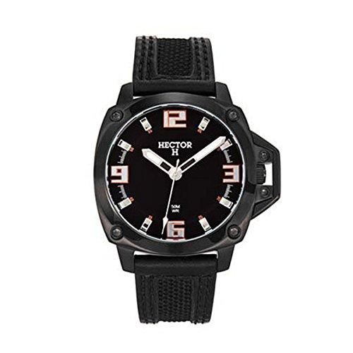 Hector Men's Black Dial Watch