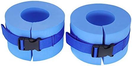 QHALEN 水中エアロビクスフロートリング/ベルト トレーニング 足首 腕 水泳 フィットネス トレーニング用 (2個セット)
