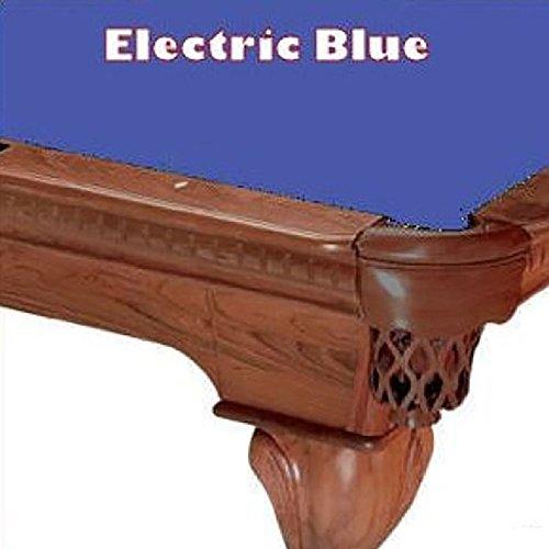 7' Electric Blue ProLine Classic 303 Billiard Pool Table Cloth (21 Oz Electric Blue Felt)