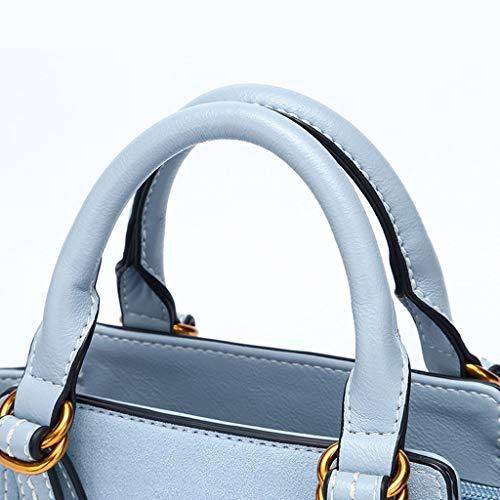 bandoulière à en Sélection femme à plusieurs Blue Sac Sac simple PU bandoulière Sac main couleurs pour à Sac de SB5gq1g