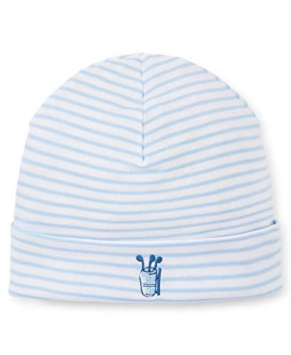 (Kissy Kissy Baby-Boys Infant First Tee Stripe Hat-Blue-Small)