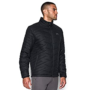 Under Armour Men's ColdGear Reactor Jacket, Black/Black, Large
