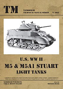 M5 and M5A1 Stuart Light Tanks (Technical Manual Series for sale  Delivered anywhere in USA
