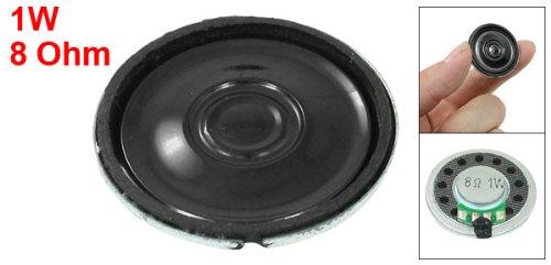 Sourcingmap 30mm Diameter Round Internal Magnetic Speaker Trumpet Horn 1W 8 Ohm