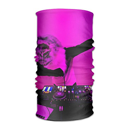 Owen Pullman Multifunctional Headwear Dabbing Cat Head Wrap Elastic Turban Sport Headband Outdoor Sweatband -