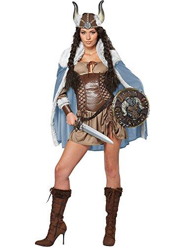 California Costumes Women's Viking Vixen Sexy Warrior
